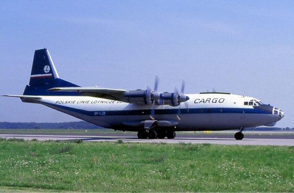 Jeden z polskich An-12