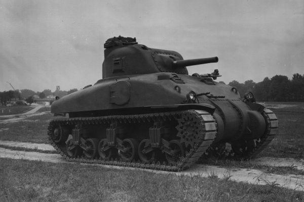 T6 Medium Tank - prototyp czołgu średniego M4 Sherman