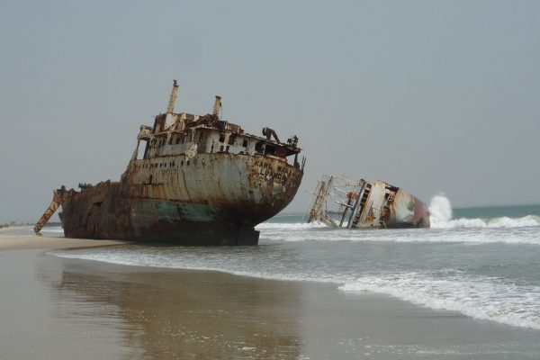 Praia da Santiago w Angoli