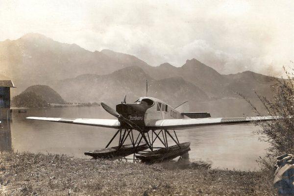 Junkers F.13 w wersji wodnosamolotu (fot. polmax3133.com)