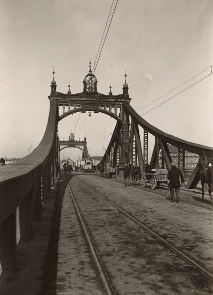 Trzeci Most (Most Krakusa), lata 30. XX w. (fot. MHK)