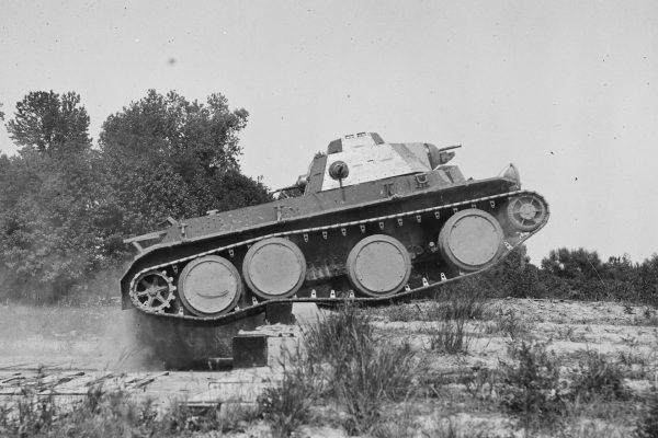 Czołg średni T3E2 z zawieszeniem typu Chrisite