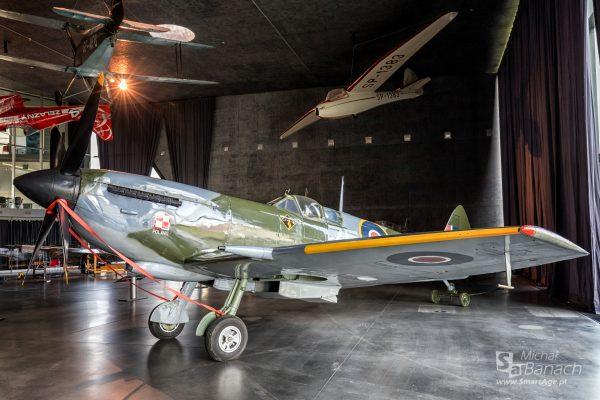 Supermarine Spitfire LF Mk XVIE (fot. Michał Banach)