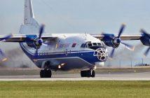 Radziecki samolot transportowy Antonow An-12