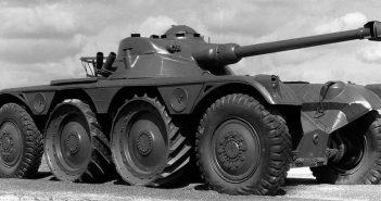 Kołowy pojazd rozpoznawczy Panhard EBR