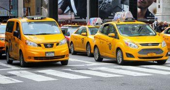 Nowojorskie żółte taksówki