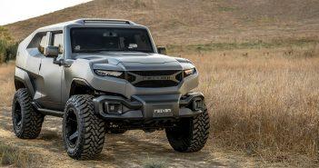 Rezvani Tank - luksusowy, pancerny i futurystyczny SUV