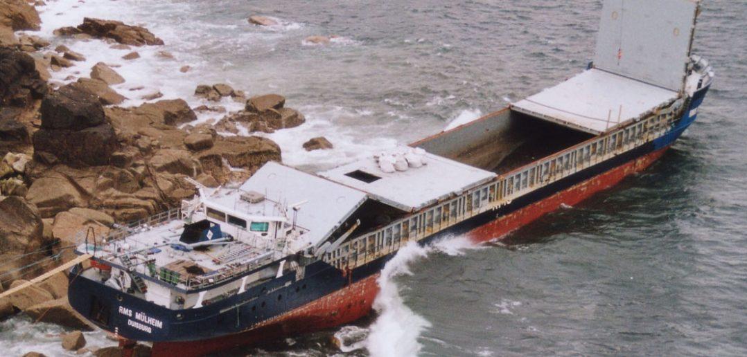 Wrak frachtowca RMS Mülheim
