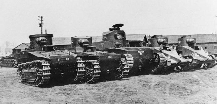 Zanim powstały Shermany i Lee – amerykańskie czołgi przed II wojną światową