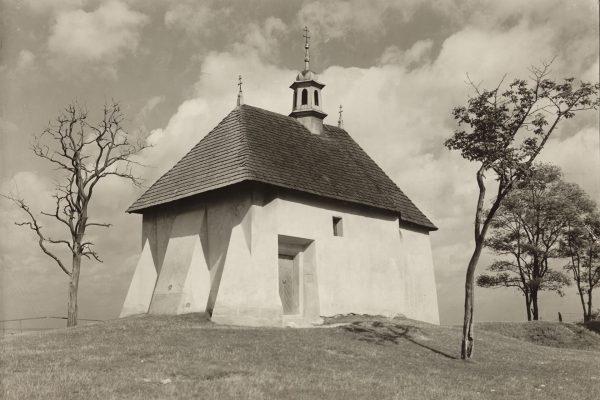 Kościół św. Benedykta, lata 20. XX w. (fot. Stanisław Mucha/MHK