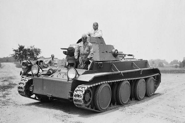 Czołg średni T3 z zawieszeniem typu Chrisite