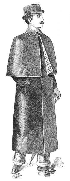 Płaszcz przeciwdeszczowy Macintosha z 1893 roku