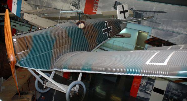 Junkers D.I (fot. Roland Turner)