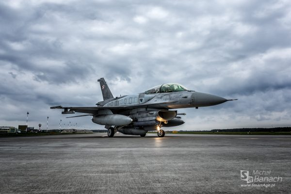 F-16 Block 52+ Jastrząb (fot. Michał Banach)