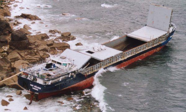 Wrak RMS Mülheim (fot. mapio.net)