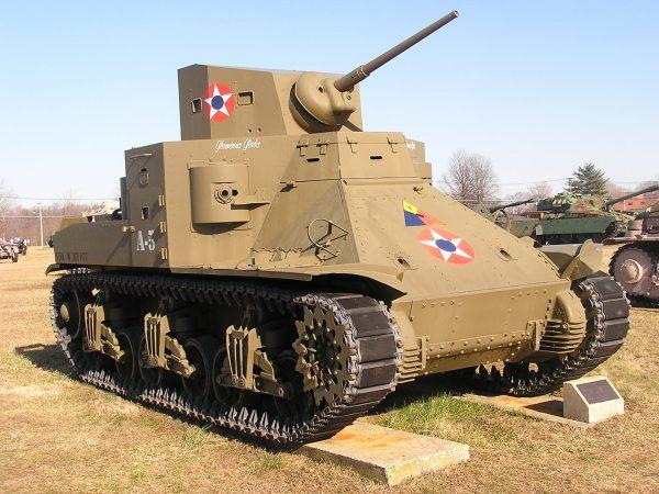 M2 Medium Tank (fot. Raymond Douglas Veydt)