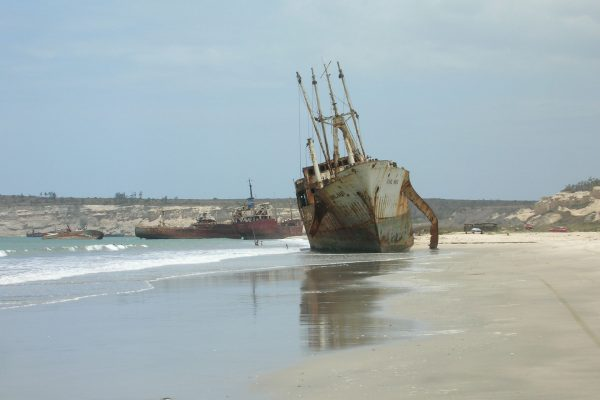 Praia da Santiago w Angoli (fot. mapio.net)