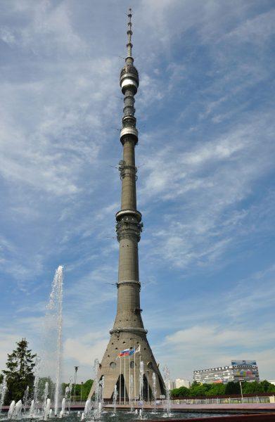 Wieża telewizyjna Ostankino
