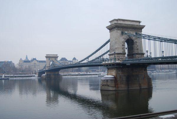 Most Łańcuchowy w Budapeszcie (fot. Petr Brož)