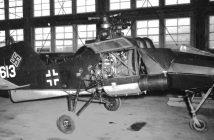 Flettner Fl 282 - pierwszy śmigłowiec produkowany seryjnie