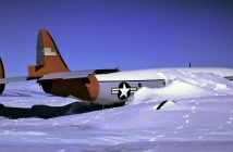 """Wrak Lockheeda C-121J Super Constellation """"Pegasus"""""""