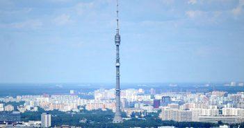 Najwyższa wieża telewizyjna w Europie - Ostankino