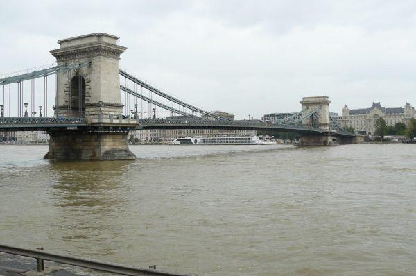 Most Łańcuchowy w Budapeszcie (fot. Wikimedia Commons)