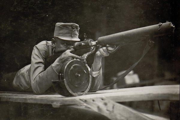 Standschütze Hellriegel M1915 (fot. Austriacka Biblioteka Narodowa)