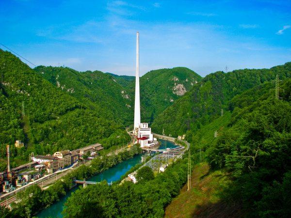 Elektrociepłownia w Trbovlju (fot. mapio.net)