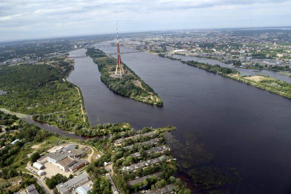 Ryska wieża radiowo-telewizyjna (fot. skaties.lv)