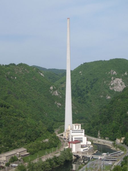 Elektrociepłownia w Trbovlju (fot. Andrej Jakobčič/Wikimedia Commons)