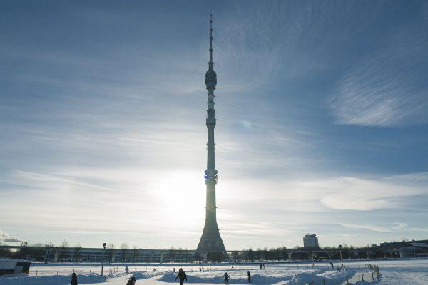 Wieża telewizyjna Ostankino (fot. Boris SV)