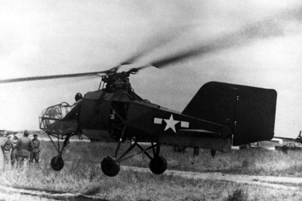 Flettner Fl 282 testowany przez Amerykanów po wojnie