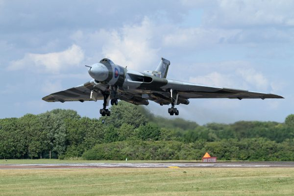 Avro Vulcan (fot. Ronnie Macdonald)