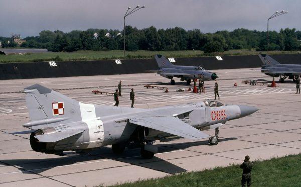 MiG-23MF - czerwiec 1998 roku (fot. Rob Schleiffert/Flickr.com)