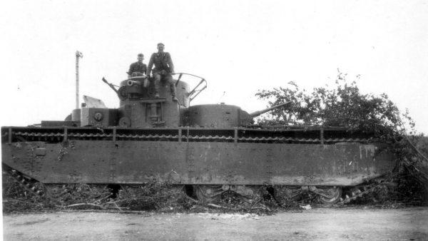 T-35 przejęty przez Niemców