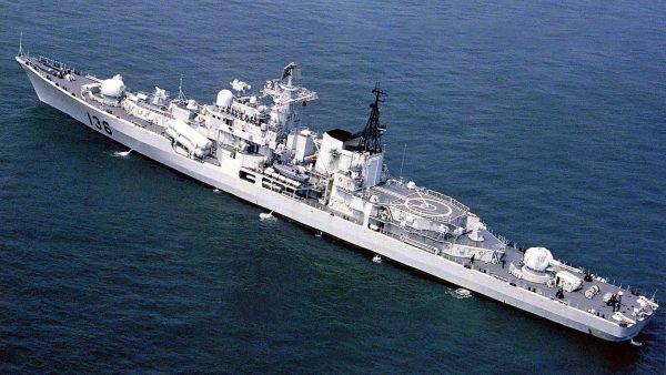 Jeden z chińskich niszczycieli projektu 956 Sowriemiennyj