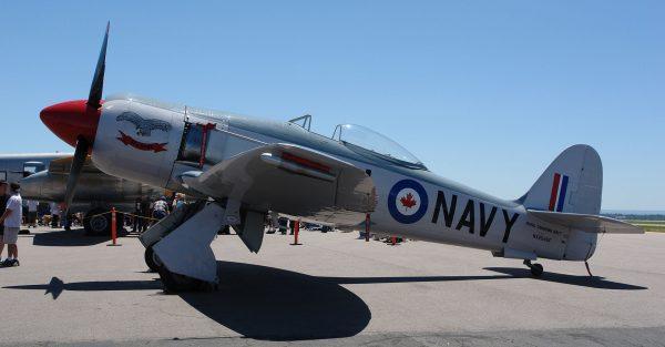 Hawker Sea Fury (fot. Hustvedt)