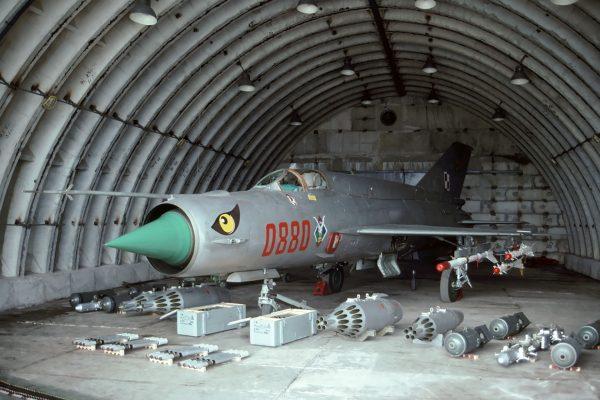 MiG-21bis - 1 lipca 1995 roku (fot. Rob Schleiffert/Flickr.com)