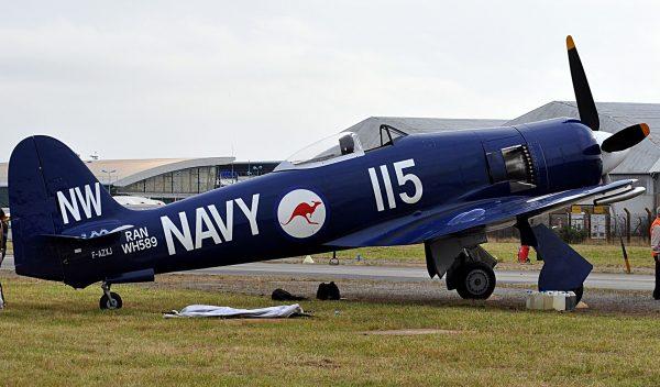 Hawker Sea Fury (fot. Gwendal)