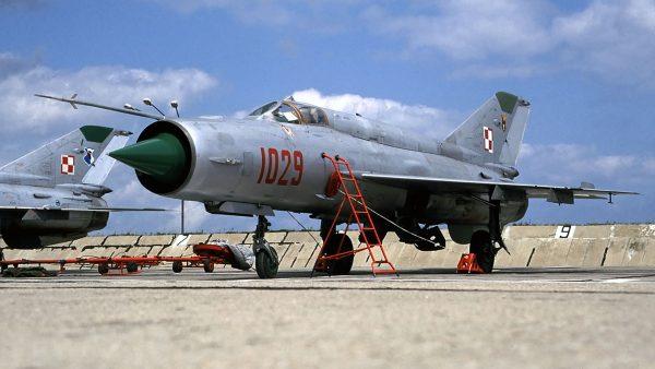 MiG-21bis (fot. Rob Schleiffert/Flickr.com)