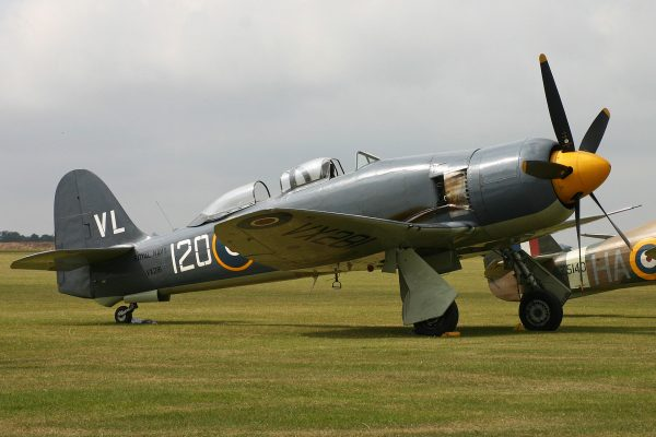 Hawker Sea Fury (fot. Alan Wilson)