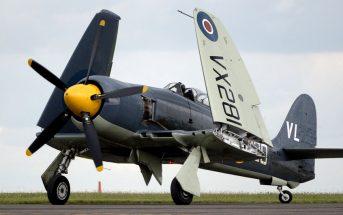 Hawker Sea Fury - ostatni myśliwiec Royal Navy z silnikiem tłokowym