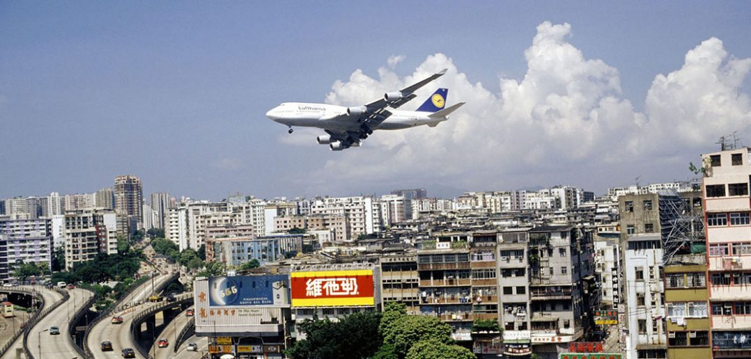 Port lotniczy Kai Tak w Hongkongu