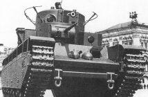 T-35 - radziecki pięciowieżowy czołg ciężki