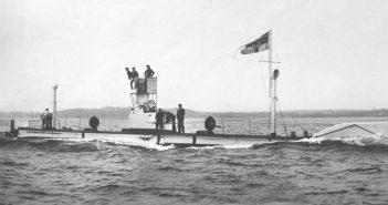 SM U-1 - pierwszy u-boot Kaiserliche Marine