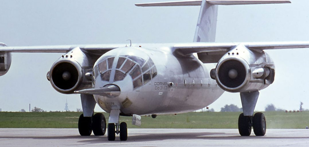 Dornier Do 31 - jedyny transportowy samolot pionowego startu i lądowania