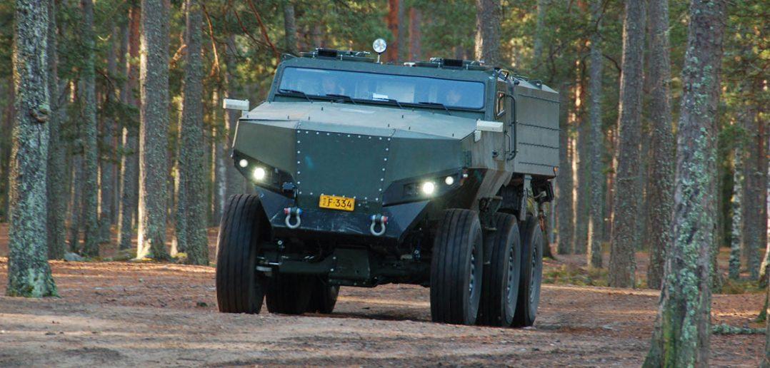 Fiński pojazd wielozadaniowy PMPV MiSu 6x6