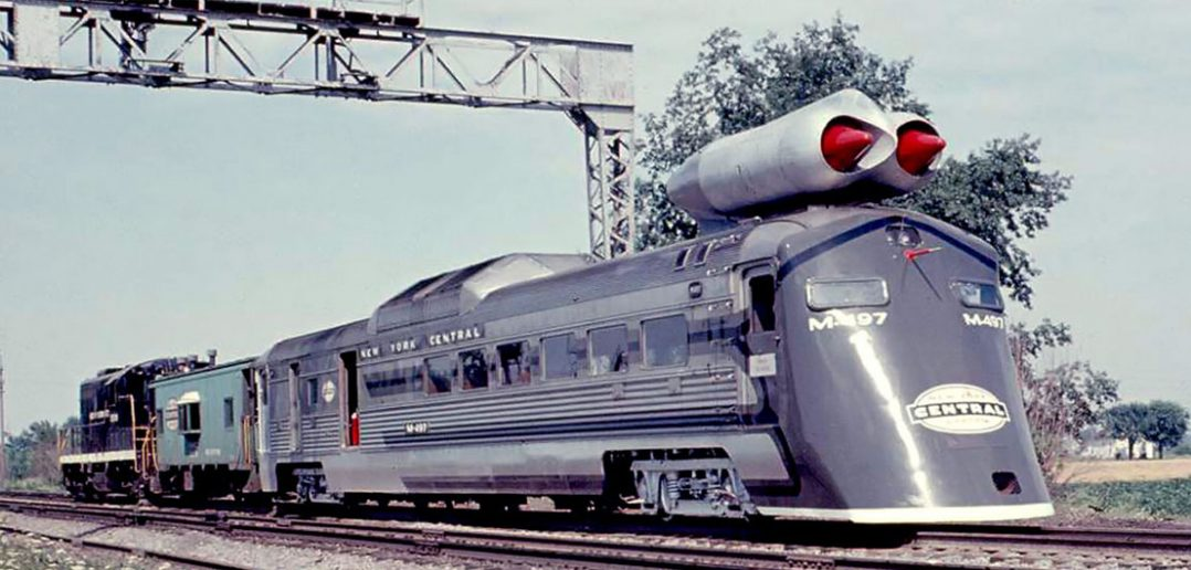 M-497 Black Beetle - eksperymentalny pociąg o napędzie odrzutowym