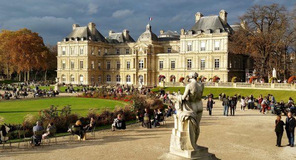 Luxembourg Gardens, Paryż, Francja (fot. Justraveling.com)